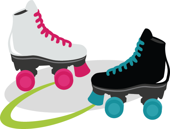 Clipart Roller Skates - Cliparts.co