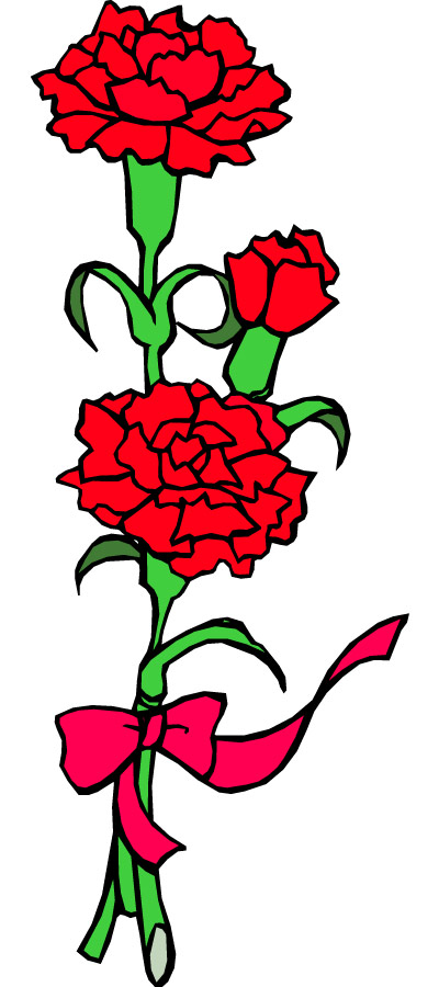 Carnation 20flower 20clip 20art | Clipart Panda - Free Clipart Images