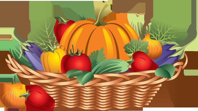 Fruit Basket Clipart : Fruit basket clip art cliparts