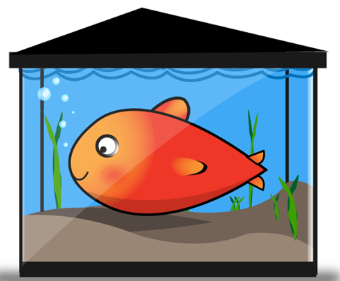 fish tank clipart rh worldartsme com Empty Fish Tank Clip Art fish tank castle clipart