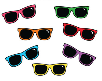 Sunglasses Clipart  sun glasses clip art cliparts co