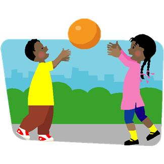 Kids Playing Outside Clip Art - Cliparts.co