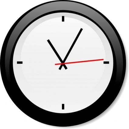 Modern Clock clip art - Download free Other vectors