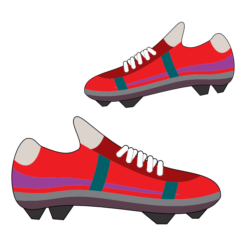 football shoes clipart - photo #1