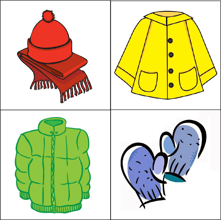 clipart winter clothing - photo #6