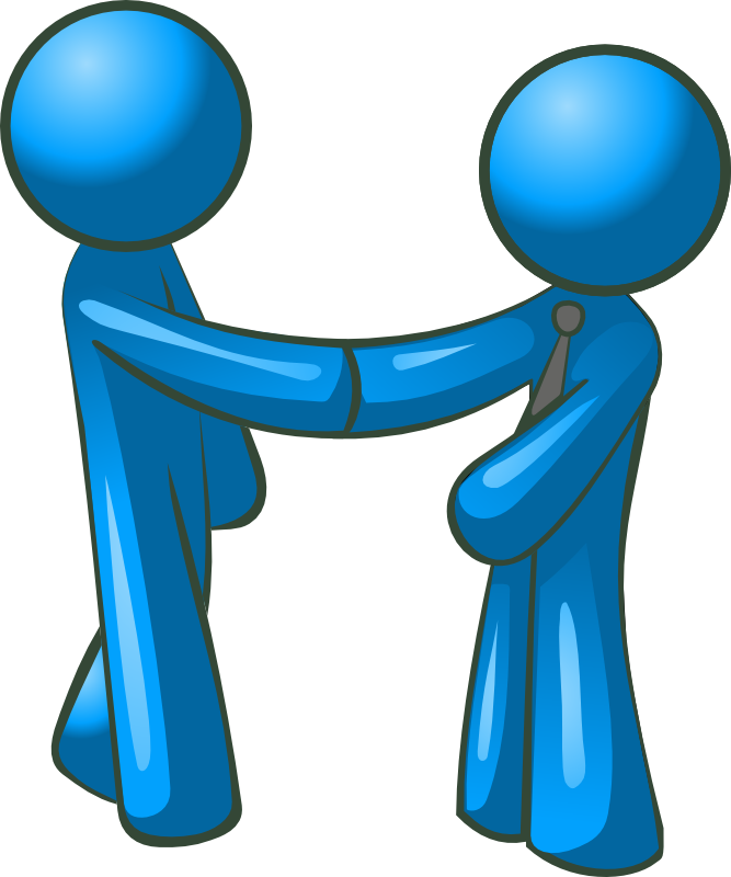 People Shaking Hands Clip Art - Cliparts.co