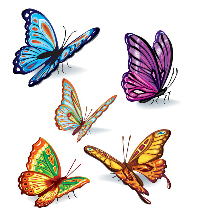 Butterfly graphics free Free graphic art