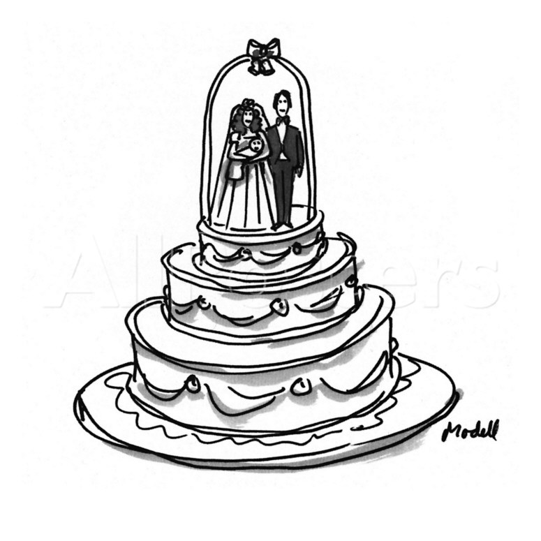 Wedding Cake Images Cartoon : Cake Cartoon Images - Cliparts.co