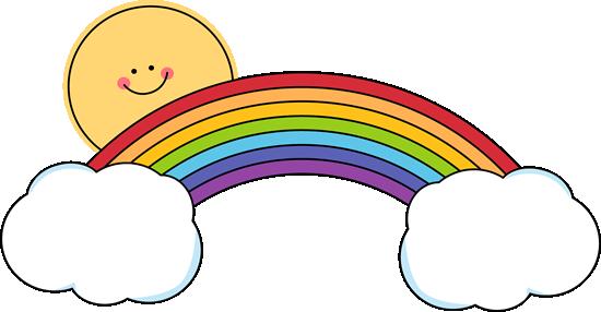 clipart panda rainbow - photo #8