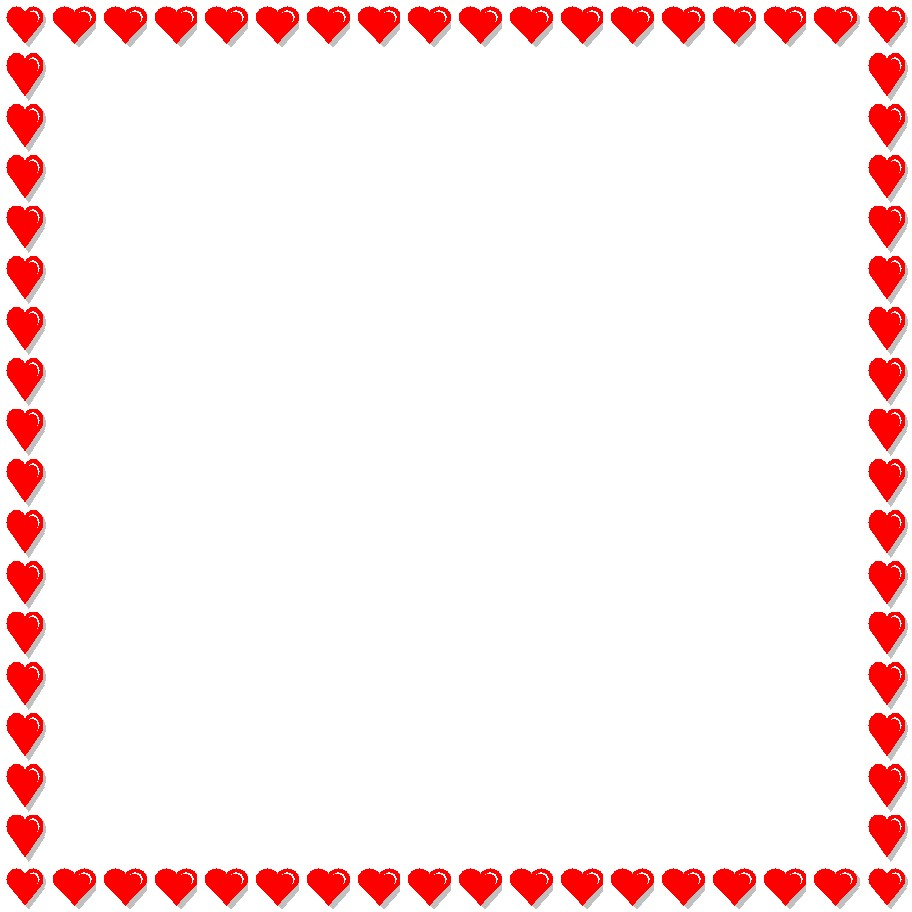 Heart Page Borders - ClipArt Best