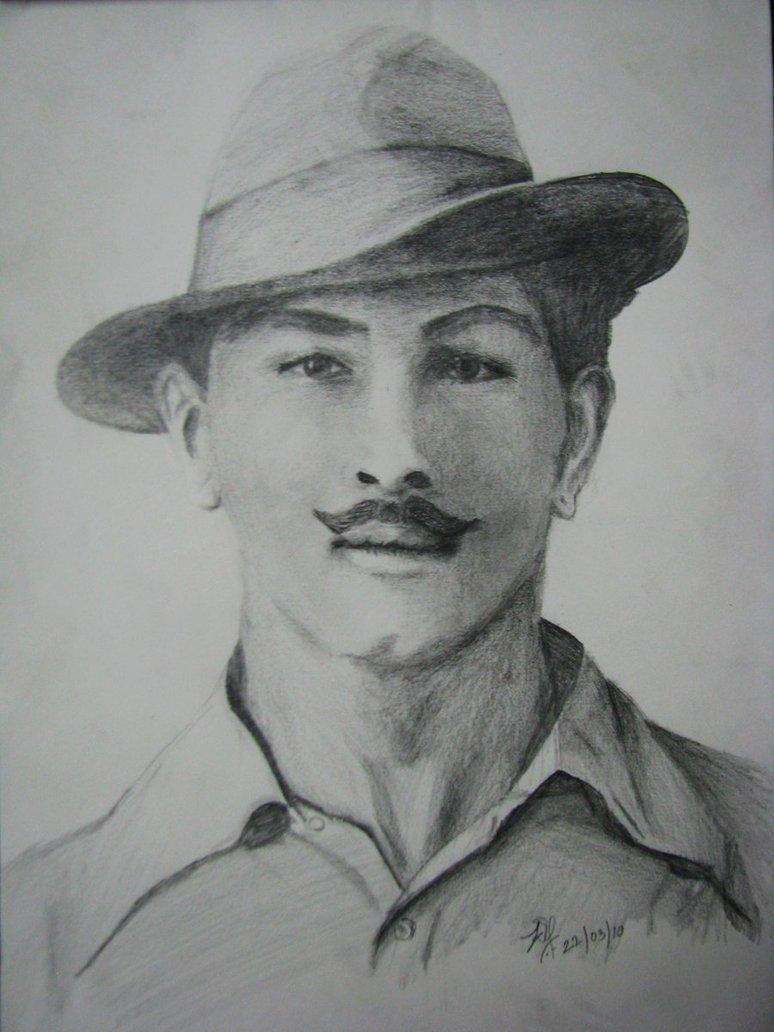 bhagat singh sketch wallpaper - photo #25