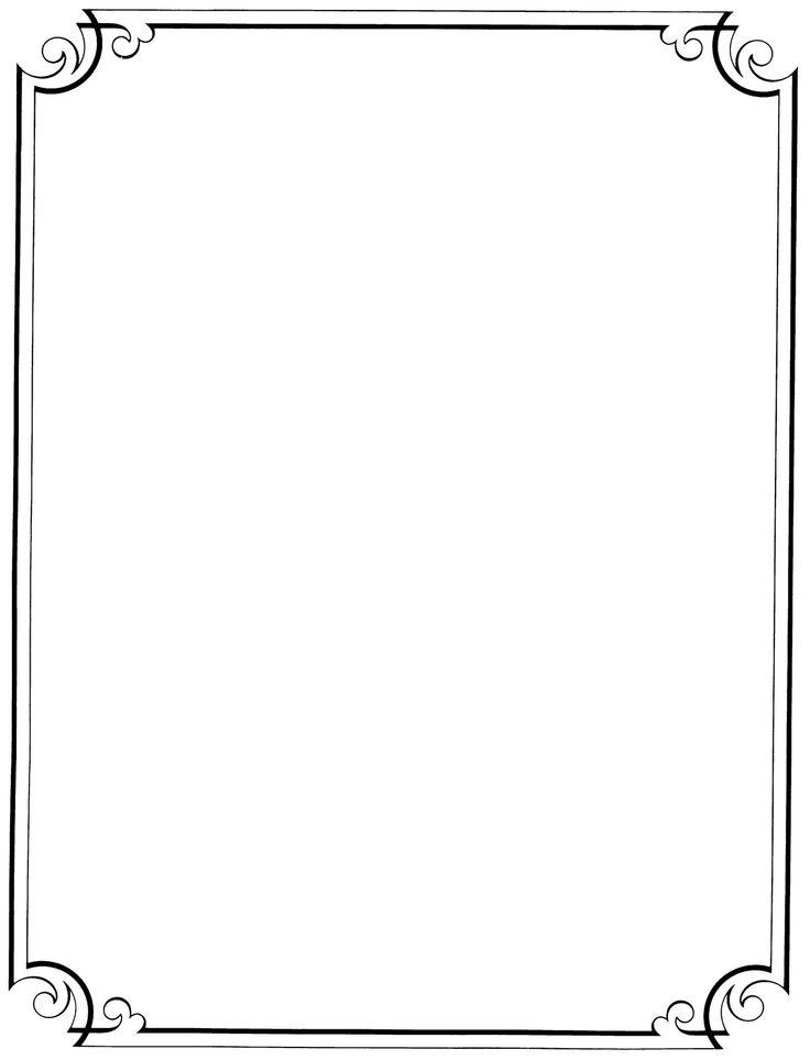 Free Simple Border Design - Cliparts.co