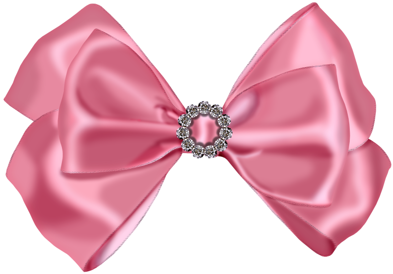 Pink Bow - Cliparts.co