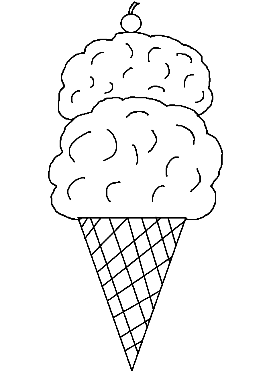 Wild image intended for ice cream cone printable