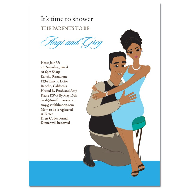 African American Baby Shower Invitations with nice invitation ideas