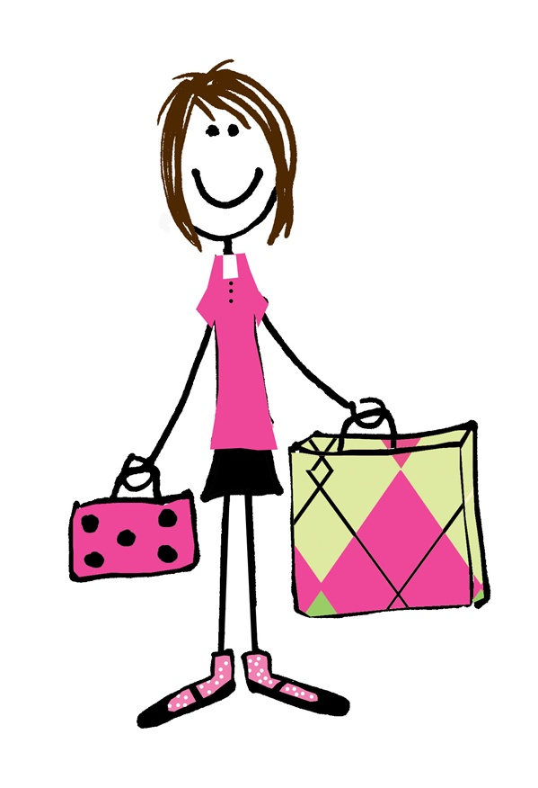 girl stick figure clipartsco