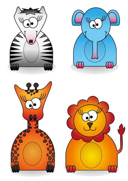 free clipart zoo animals - photo #40