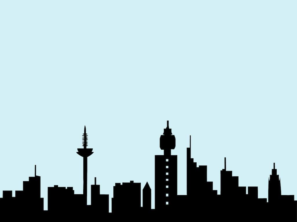 new york city skyline outline. Black Bedroom Furniture Sets. Home Design Ideas