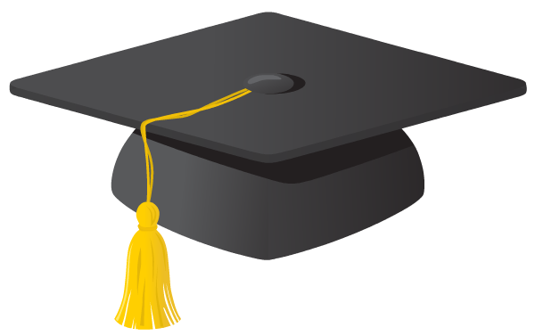 Pix For > Graduation Hats In The Air Clipart
