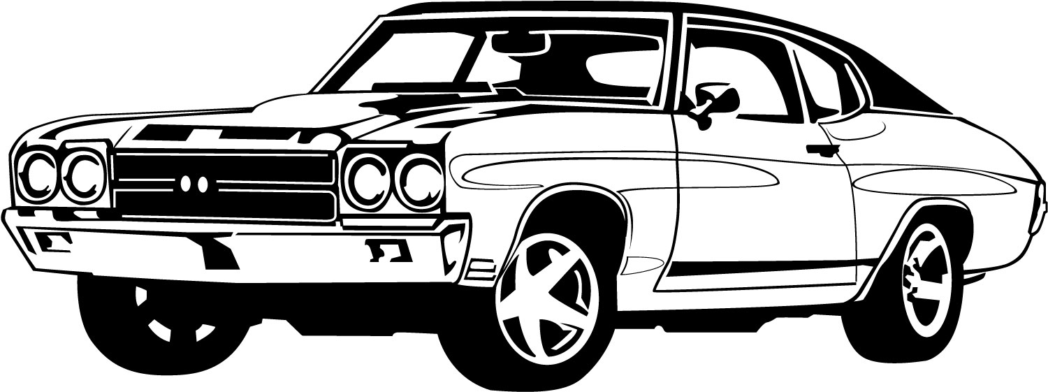 Mustang Car Clipart Black And White | Clipart Panda - Free Clipart ...