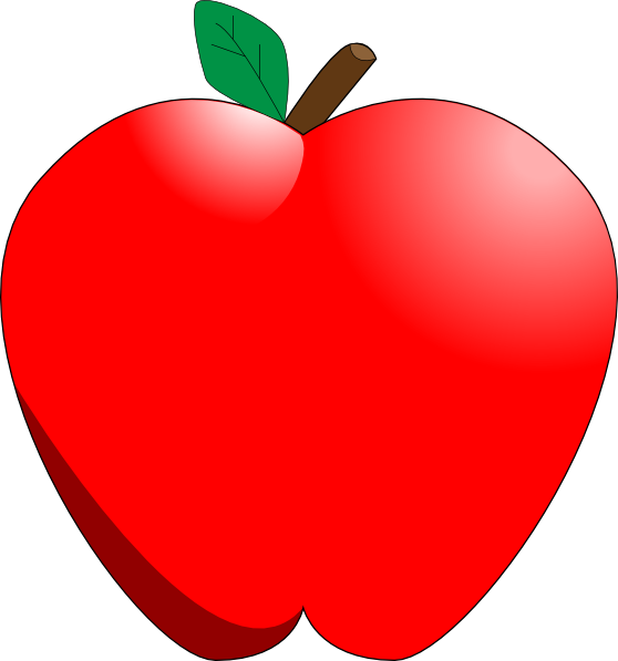 Cartoon Apple clip art - vector clip art online, royalty free ...: cliparts.co/animated-apple-clip-art