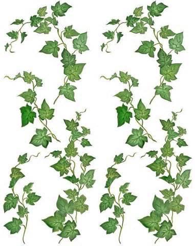 Poison Ivy Plant Tattoo Vine-illustration-clip...