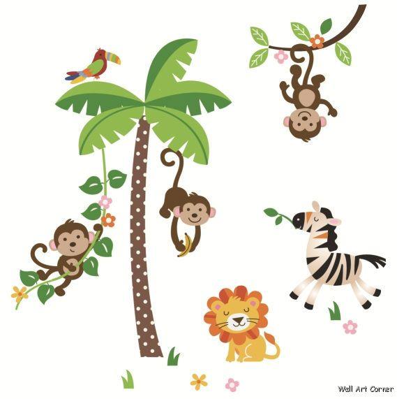 Cartoon Jungle Trees - Cliparts.co