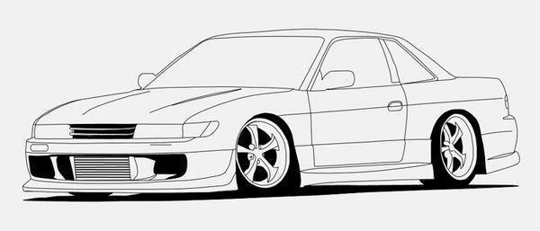 Car Outlines - Cliparts.co
