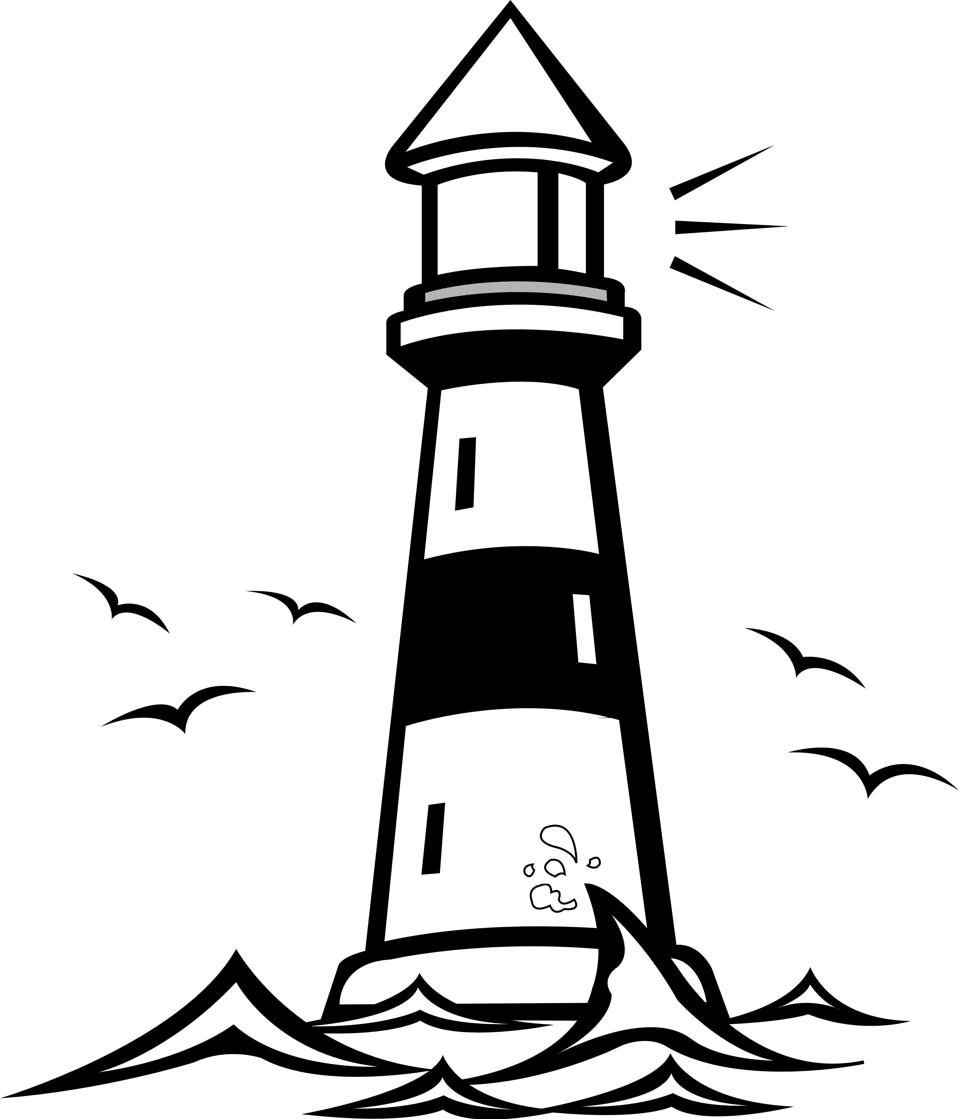Cute Lighthouse Clipart | Clipart Panda - Free Clipart Images