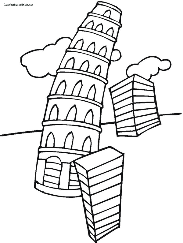 Leaning Tower Of Pisa Clip Art - Cliparts.co