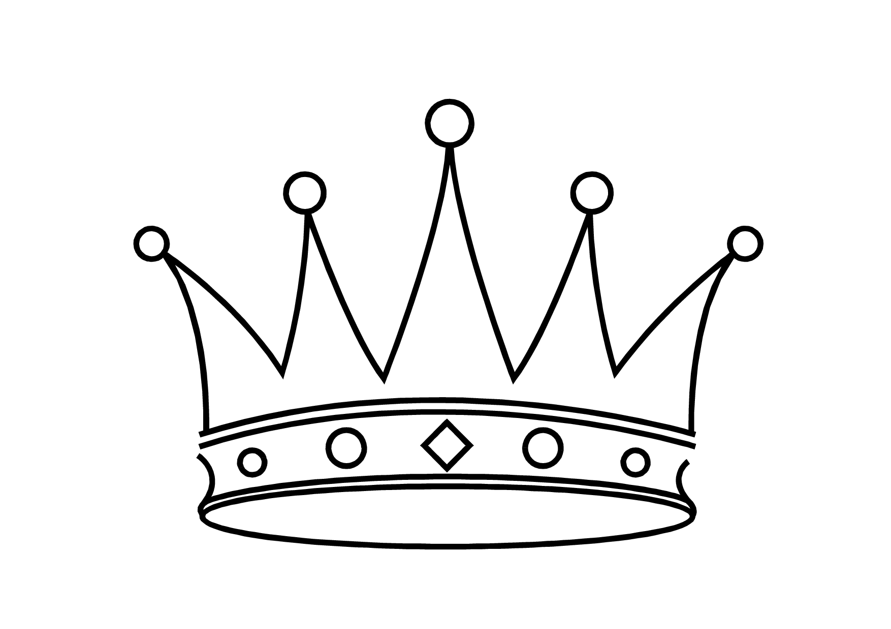 Black And White Princess Crown Black Princess Crown Clipart