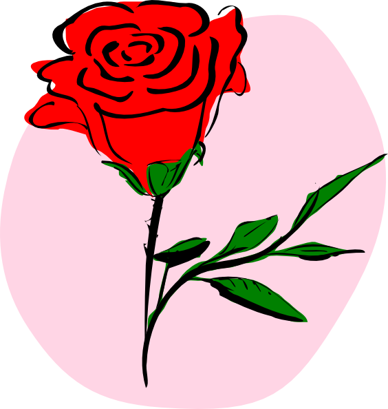 Pictures Of Cartoon Roses - ClipArt Best