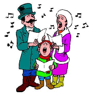 Christmas Carol Clip Art - Cliparts.co