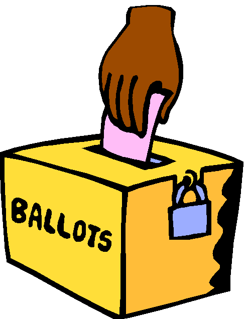 free clipart vote yes - photo #39