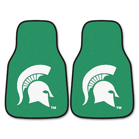 Michigan State University Spartans Car Mats-2pc at HSN.