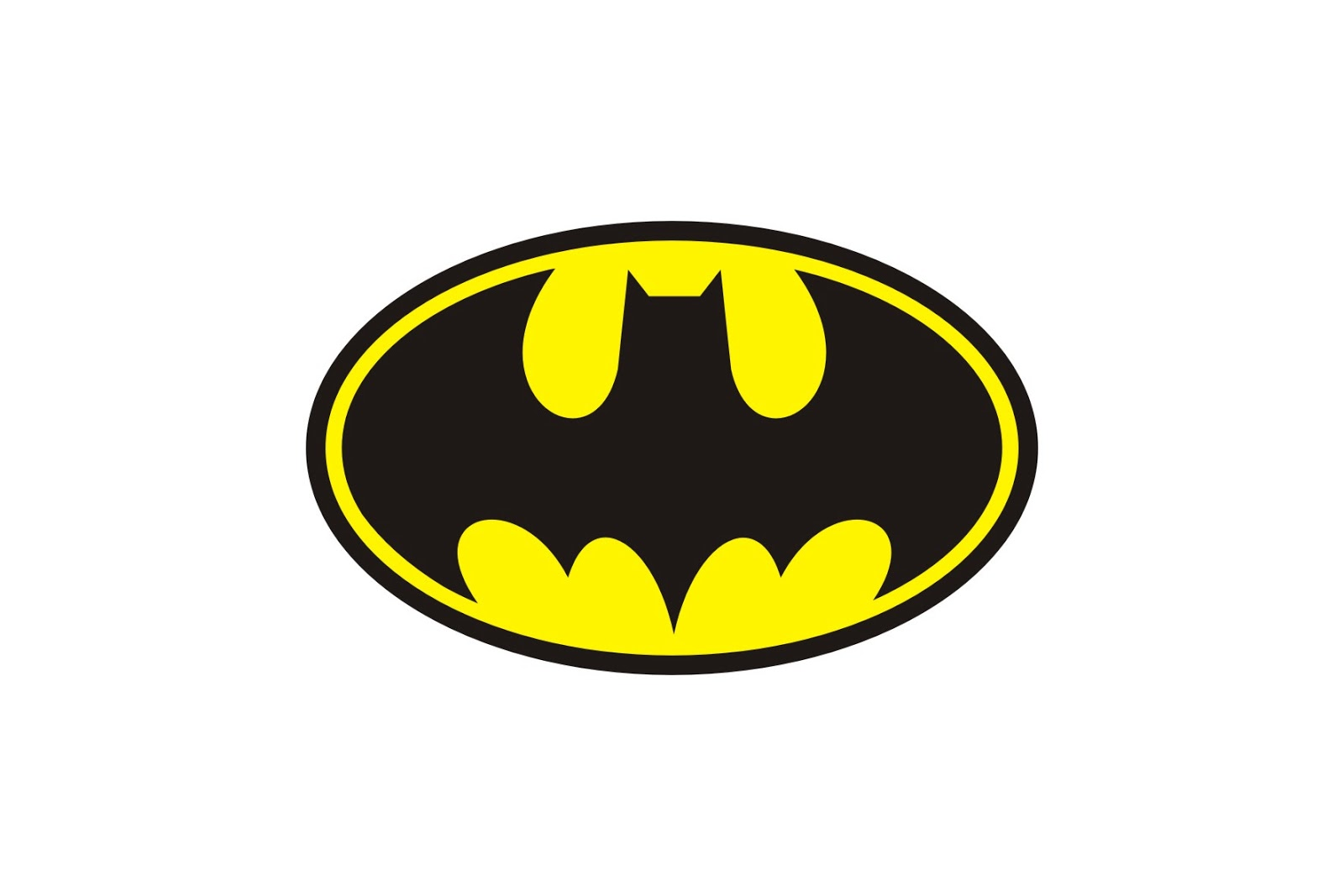 Batman logo stencil Batman symbol