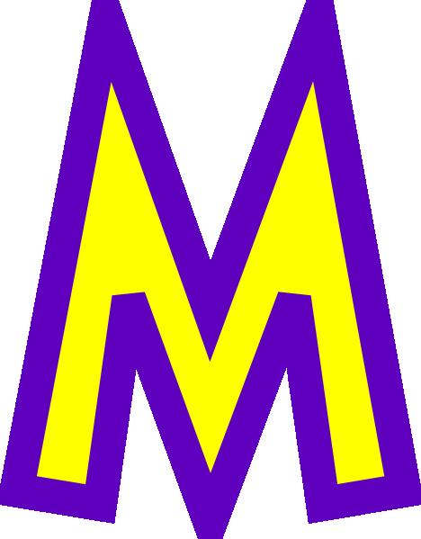 Letter M Clip Art Clipart