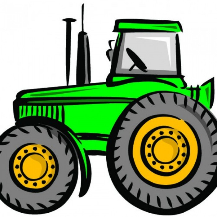 Images of tractors for Tractor art projects