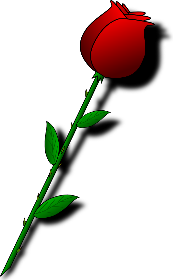 Single Rose Clipart - Cliparts.co