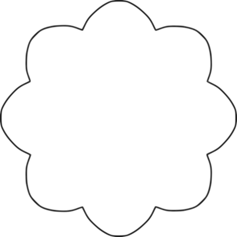 Daisy template for Daisy cut out template