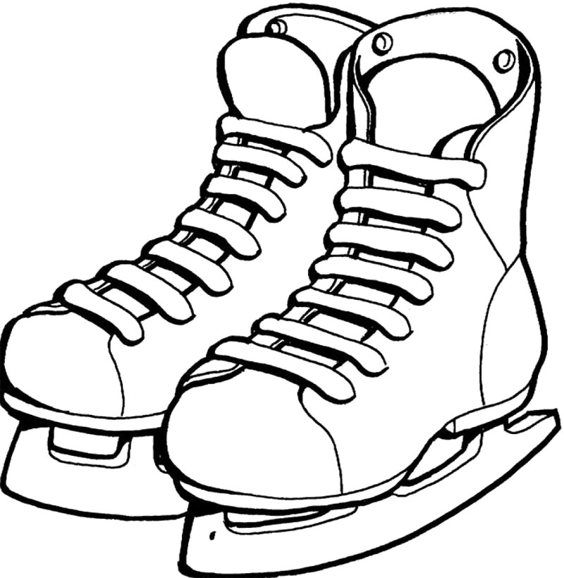 Shoes-Ice-Skating-Coloring- ...