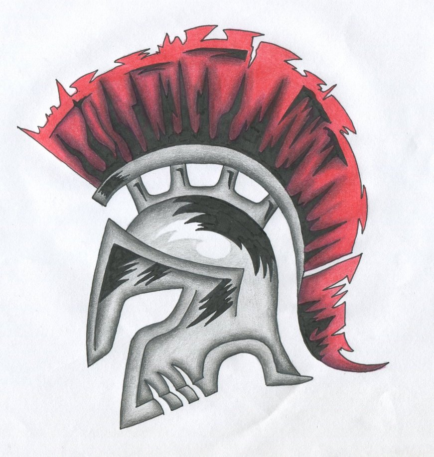Spartan helm for Helm design