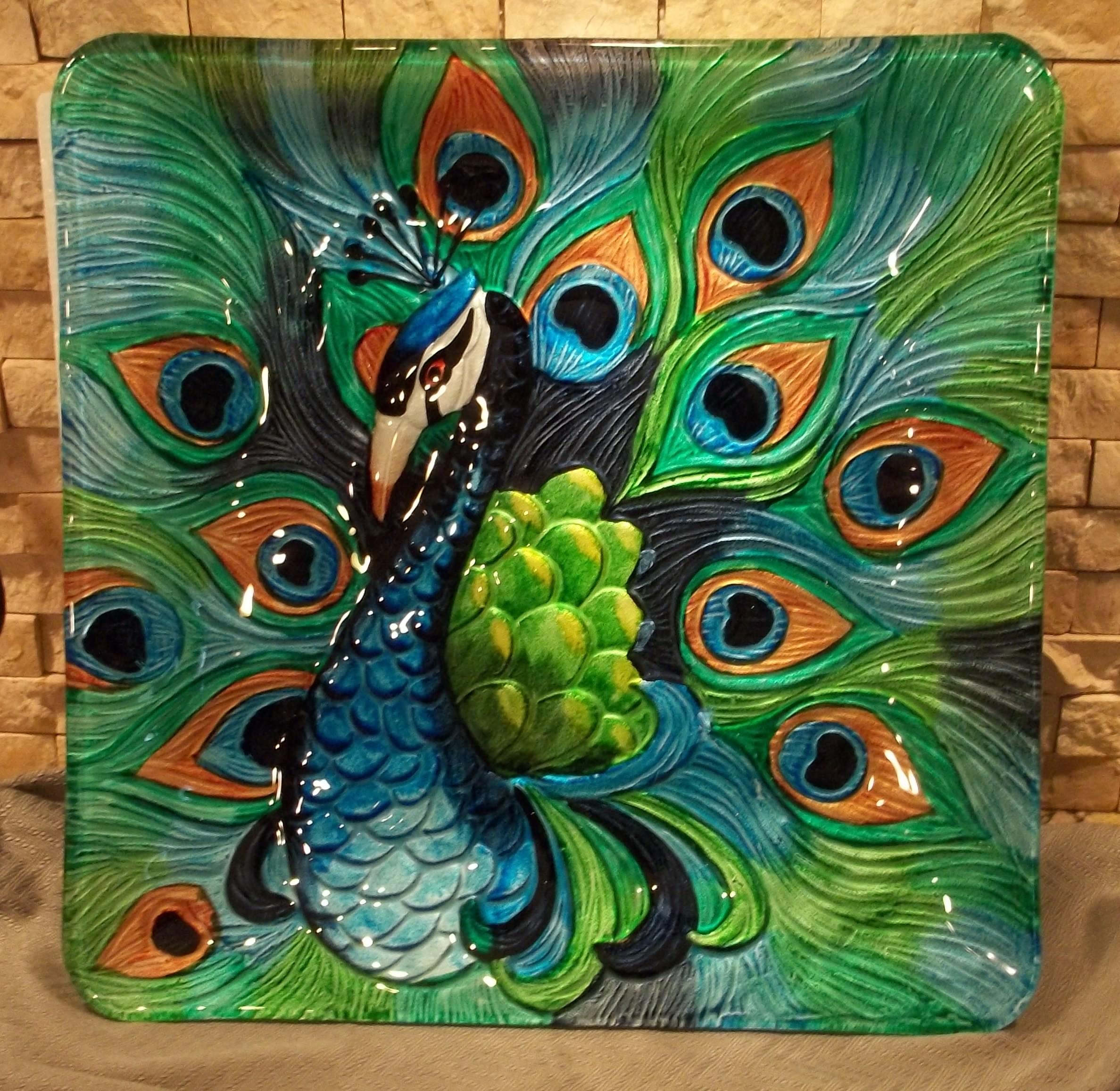 Art Nouveau Peacock Design