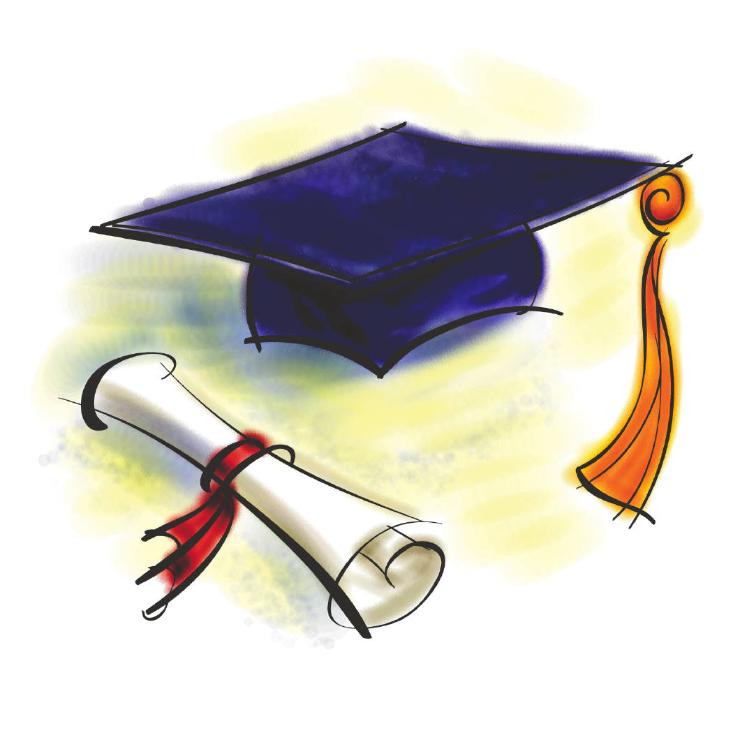 Graduation Cap And Diploma - ClipArt Best