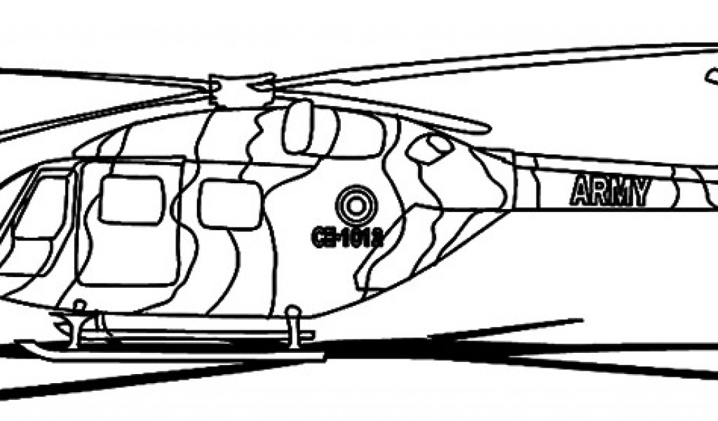 Helicopter Clipart Black And White - Cliparts.co