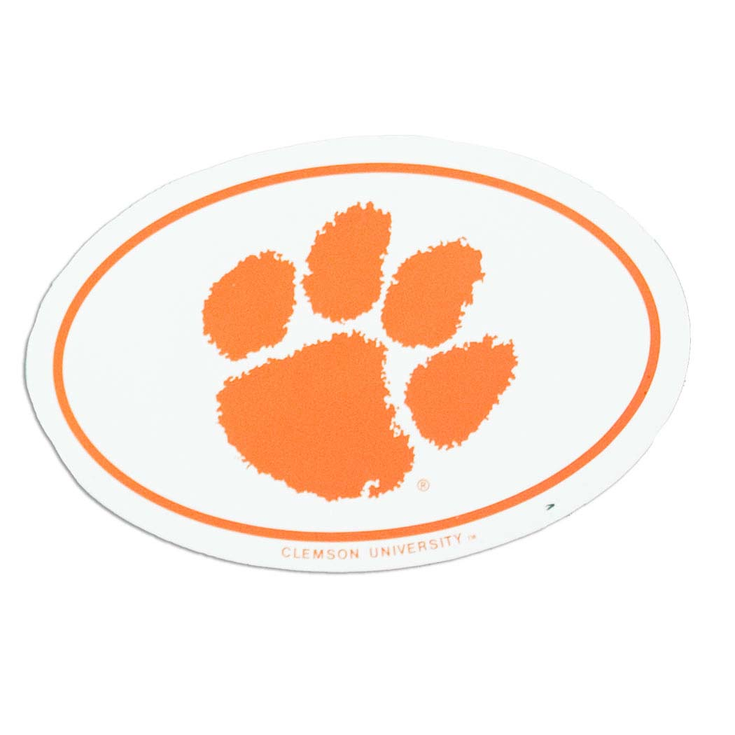 Clemson Tiger Paw Magnet - ClipArt Best - ClipArt Best