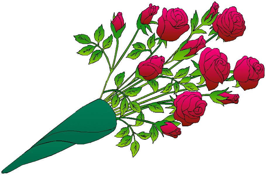 Free Flower Bouquet Clip Art - Cliparts.co