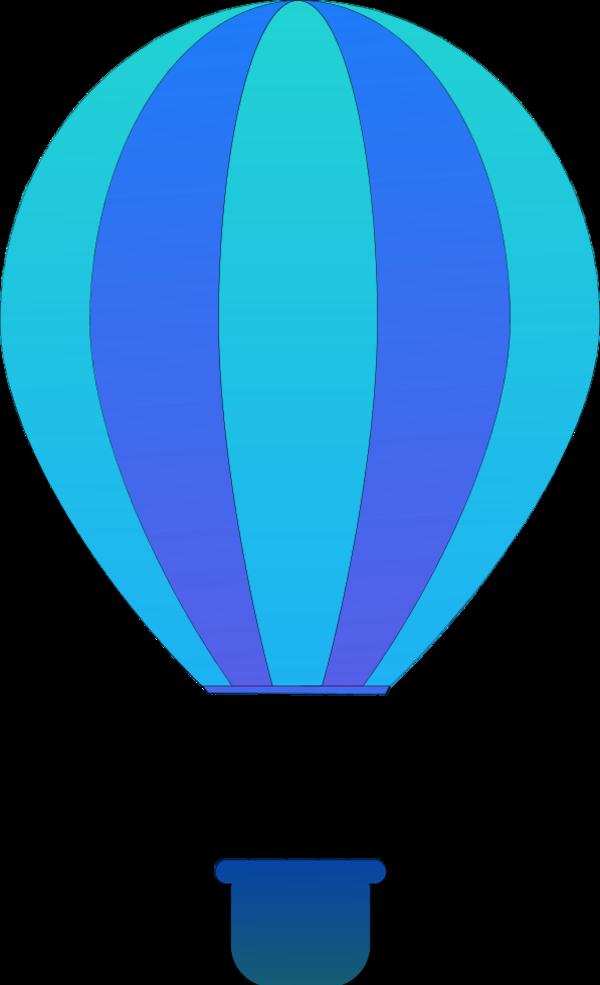 clipart hot air balloon - photo #45