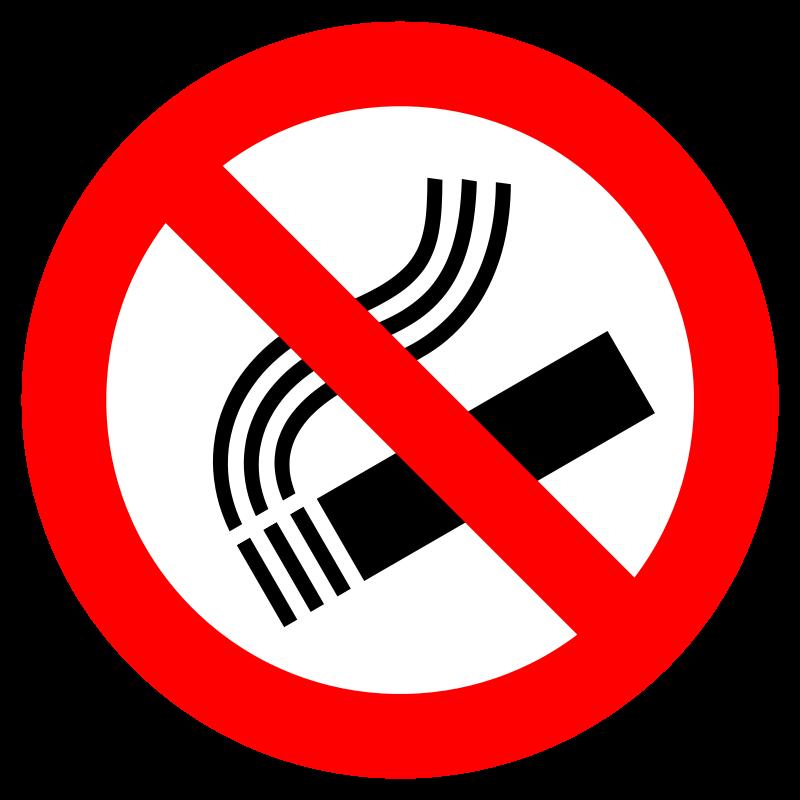 No Smoking Sign... Clip Art No Smoking