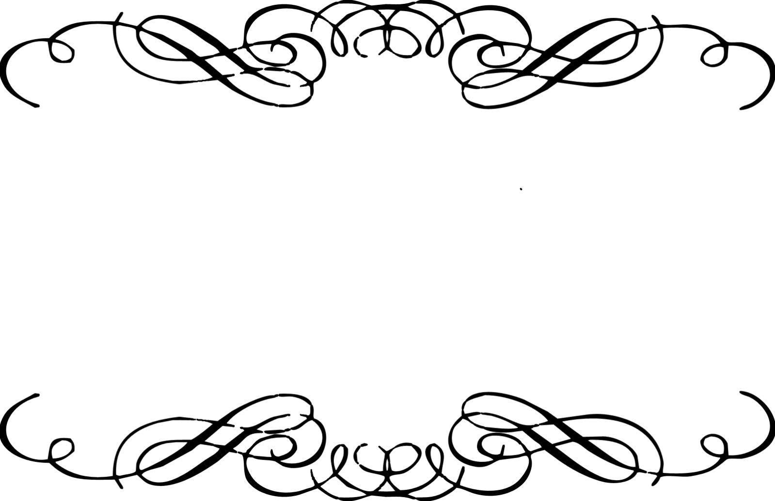 Floral Scroll Frame Clip Art Free Download - ClipArt Best